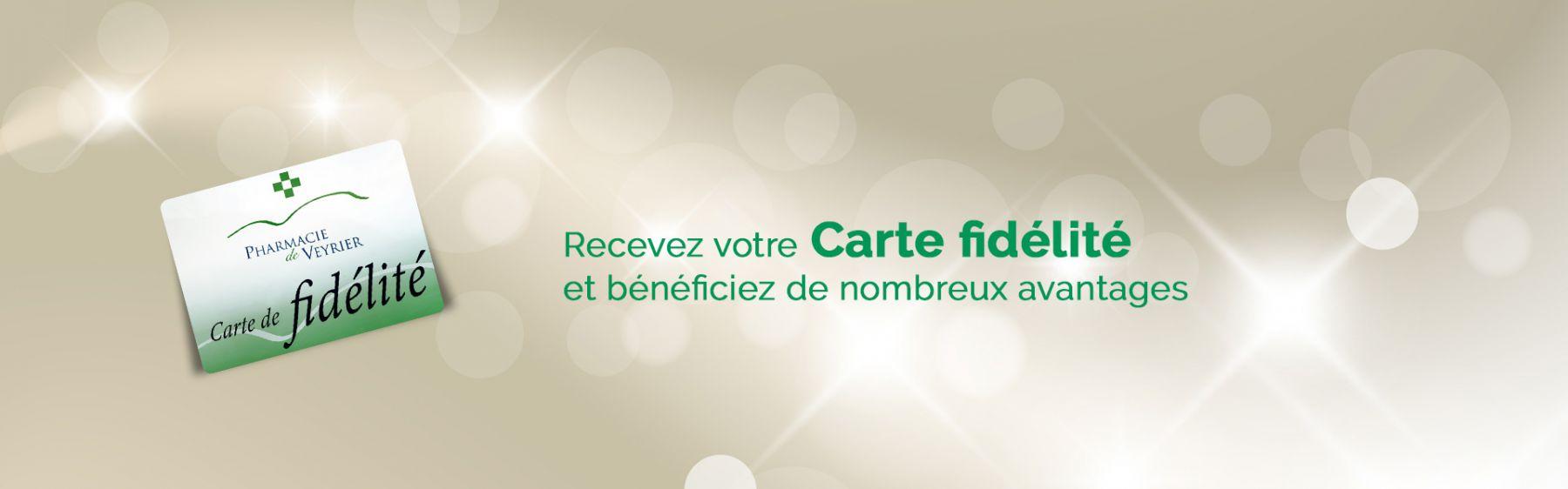 Pharmacie de Veyrier - Carte fidélité